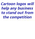 Cartoon logos add FUN to your company image